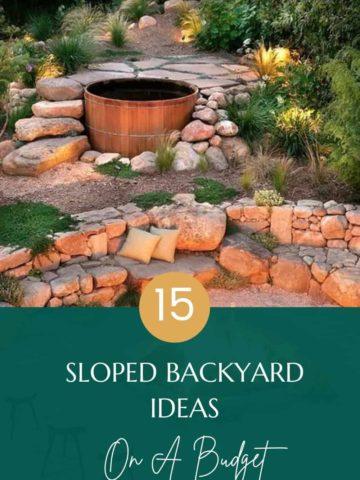 budget-sloped-backyard-ideas
