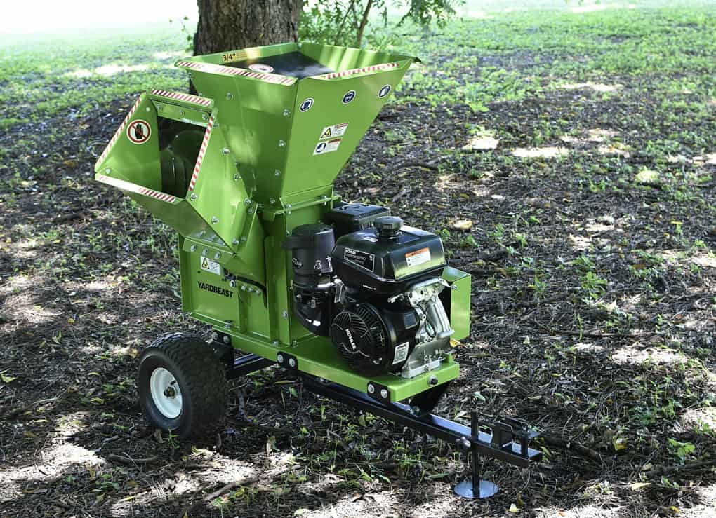 Portable-wood-chipper