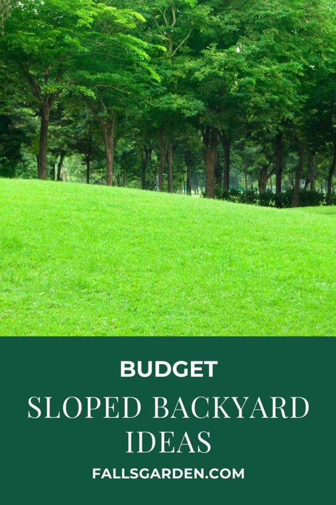 budget-sloped-backyard-ideas