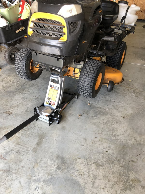 Lift-up-Lawn-mower