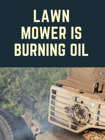 LAWN-MOWER-is-burning-oil