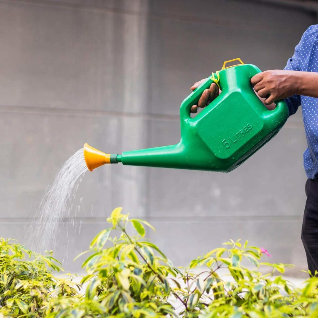 Plastic-watering-can